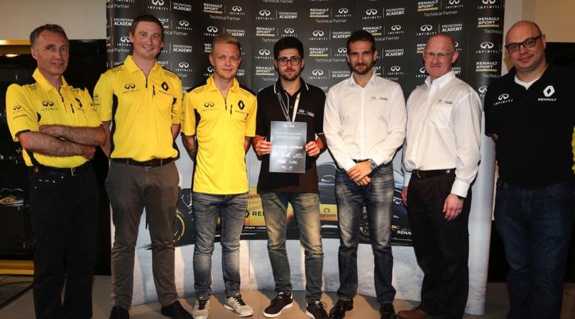 Infiniti, l'opportunità della vita: una carriera in F1