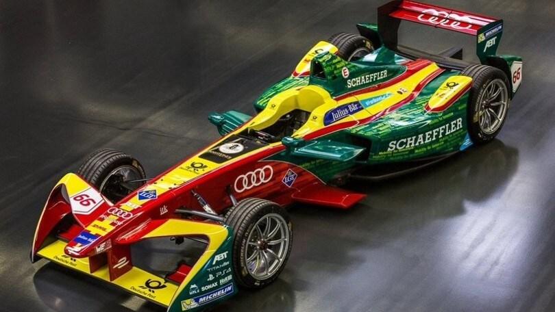 Il futuro elettrico Audi passa dalla Formula E