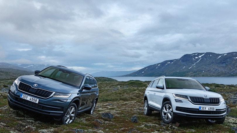 Skoda Kodiaq, il SUV con 7 posti e tanto spazio