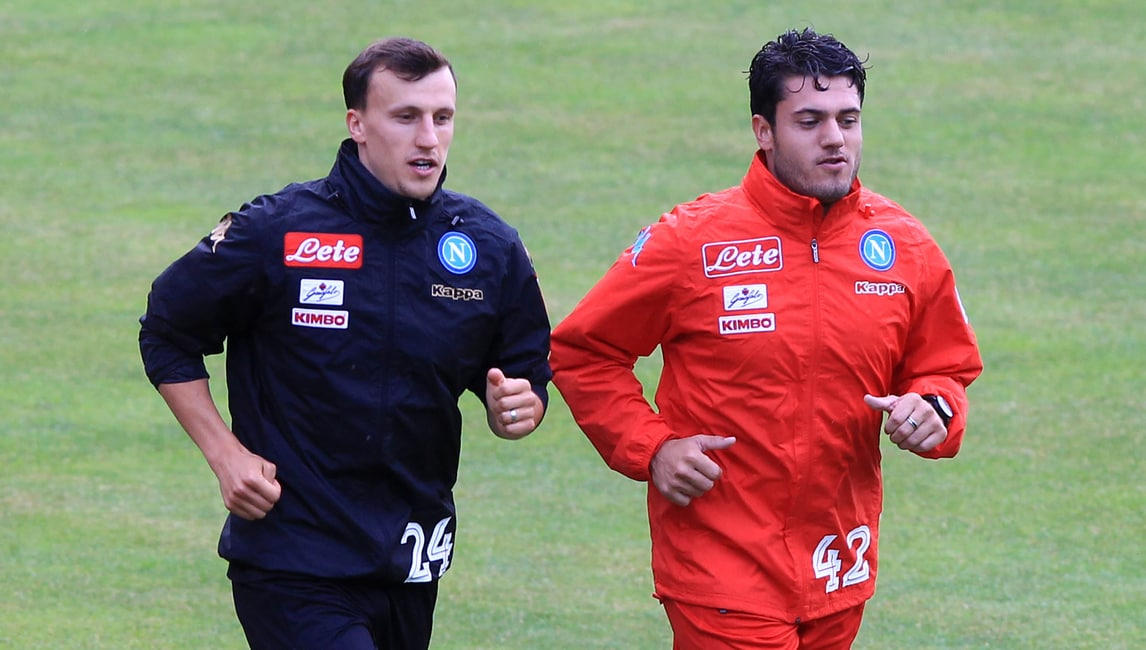 Serie A Napoli, stop Chiriches. Maksimovic in gruppo