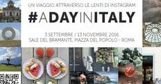 #ADAYINITALY: le Sale del Bramante aprono alla fotografia social