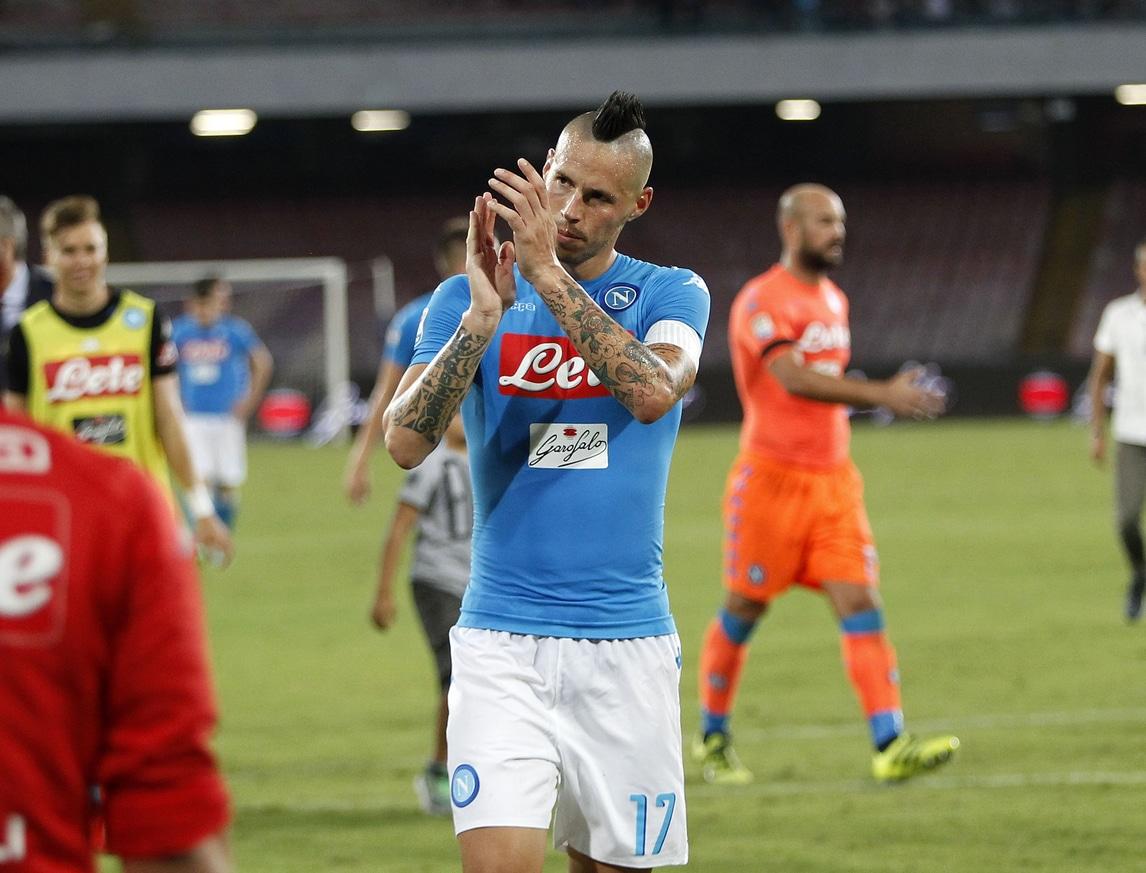 Hamsik: «Napoli tra i primi 15 club al mondo, mai pensato di lasciare»