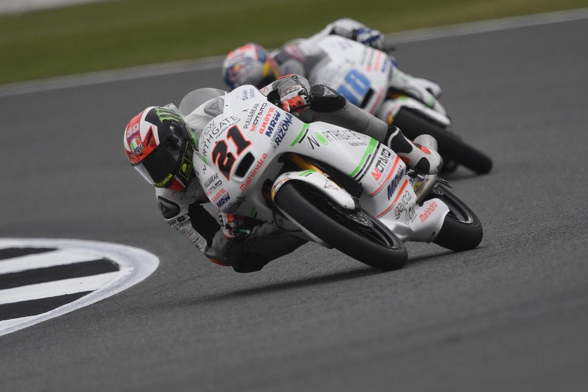 Moto3 Silverstone: Bagnaia è in pole