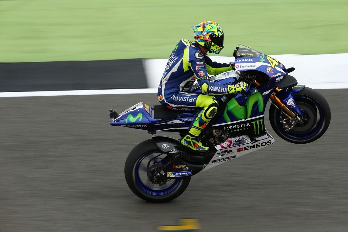 MotoGp Yamaha, Rossi: «La moto è migliorata molto»