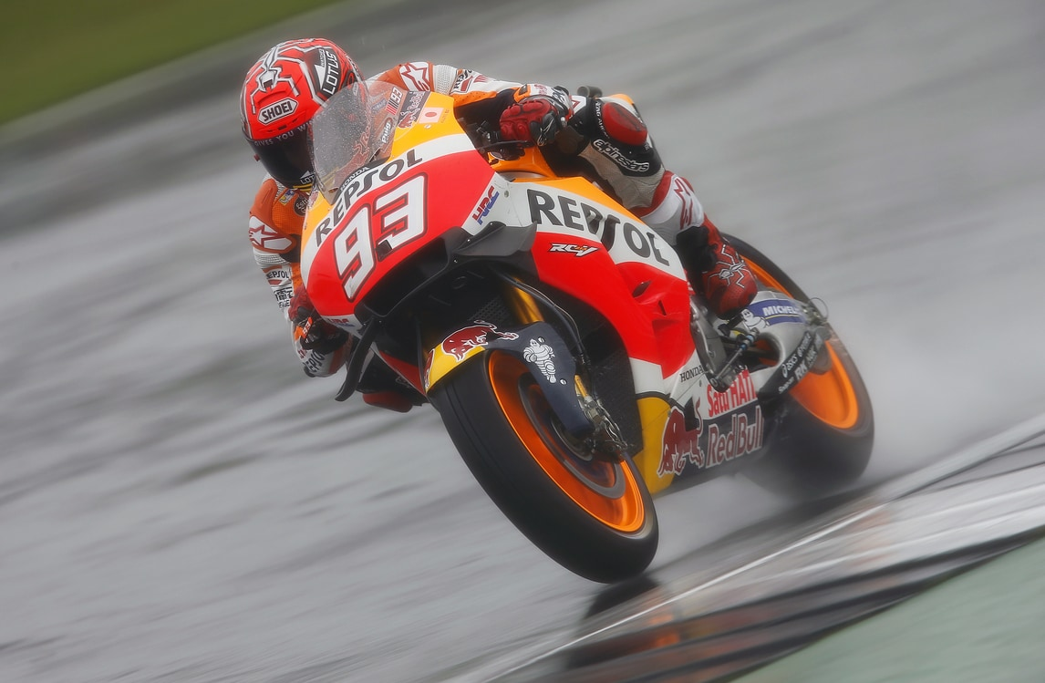 MotoGp Honda, Marquez soddsifatto: «Buone sensazioni»