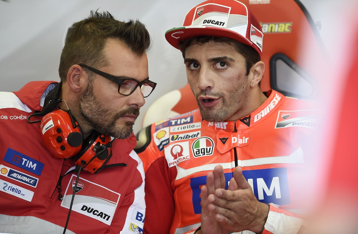 MotoGp Ducati, Iannone: «Peccato per la pioggia»