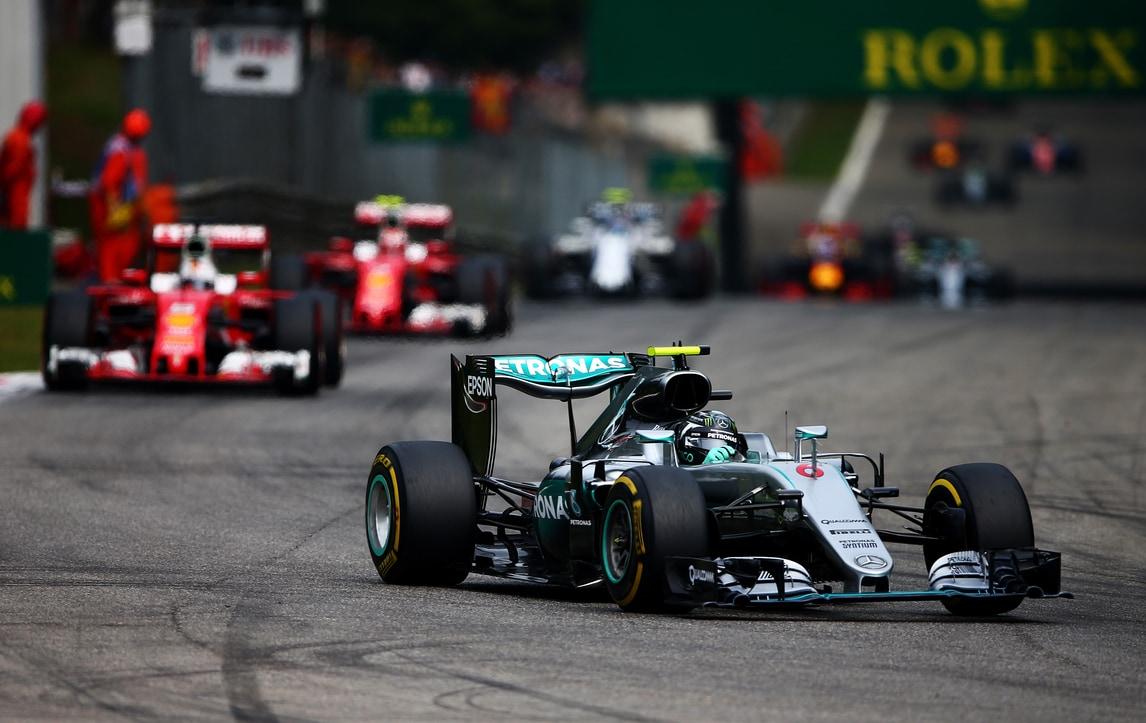 F1 Gp d'Italia: dominio Rosberg, Vettel terzo
