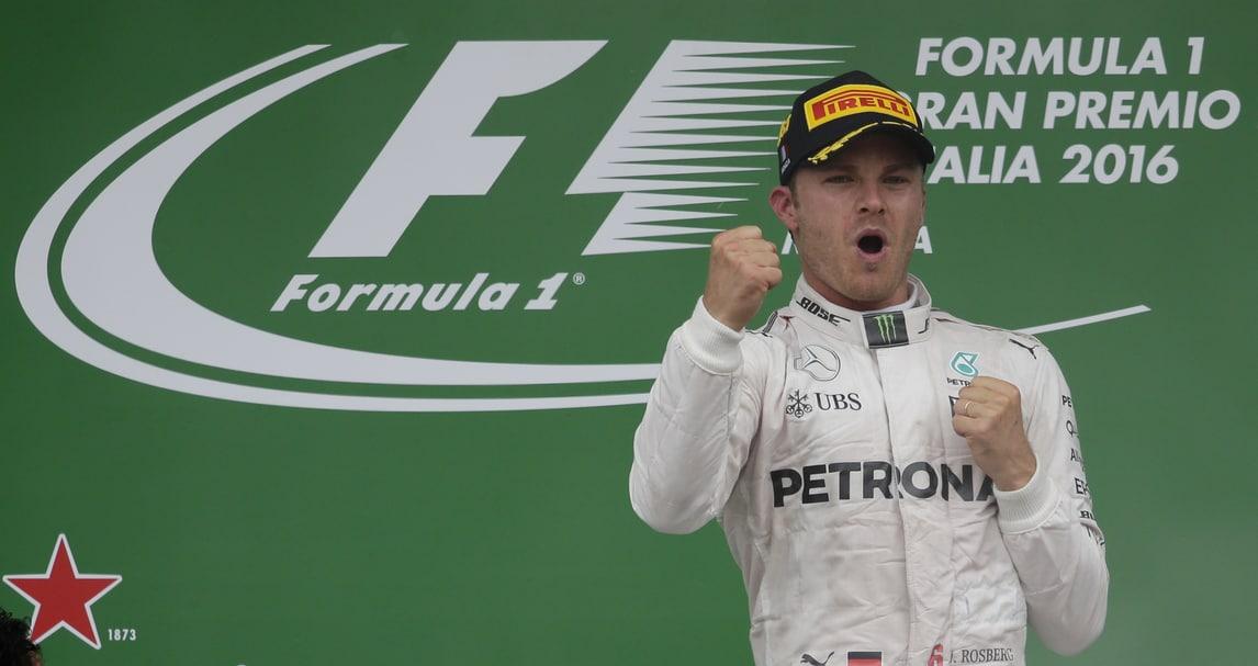 F1 Mercedes, Rosberg: «Una vittoria speciale in Italia»