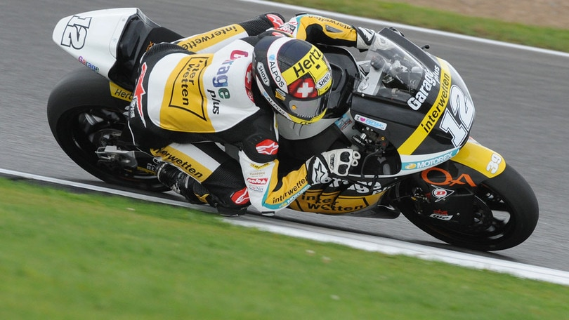 Moto2 Silverstone, Luthi torna a vincere