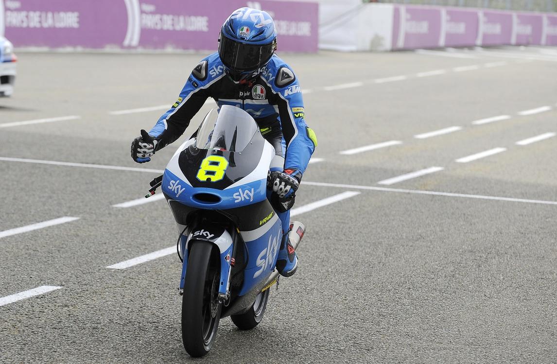Moto3 Sky Racing Team VR46, Bulega: «Sono carico»