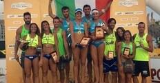 Beach Volley: Menegatti-Giombini e Caminati-Rossi Campioni d'Italia 2016