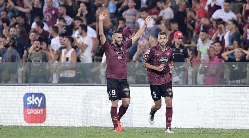 Serie B, pari Salernitana. Il Benevento sfiora l'impresa