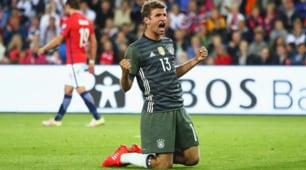 Russia 2018: Norvegia-Germania 0-3, show di Muller