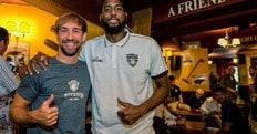 Basket, Poeta e White i capitani di Torino