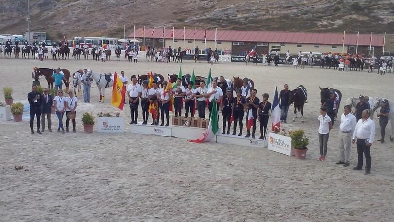 Equitazione, Italia Jr oro e argento ai Mondiali di Trec