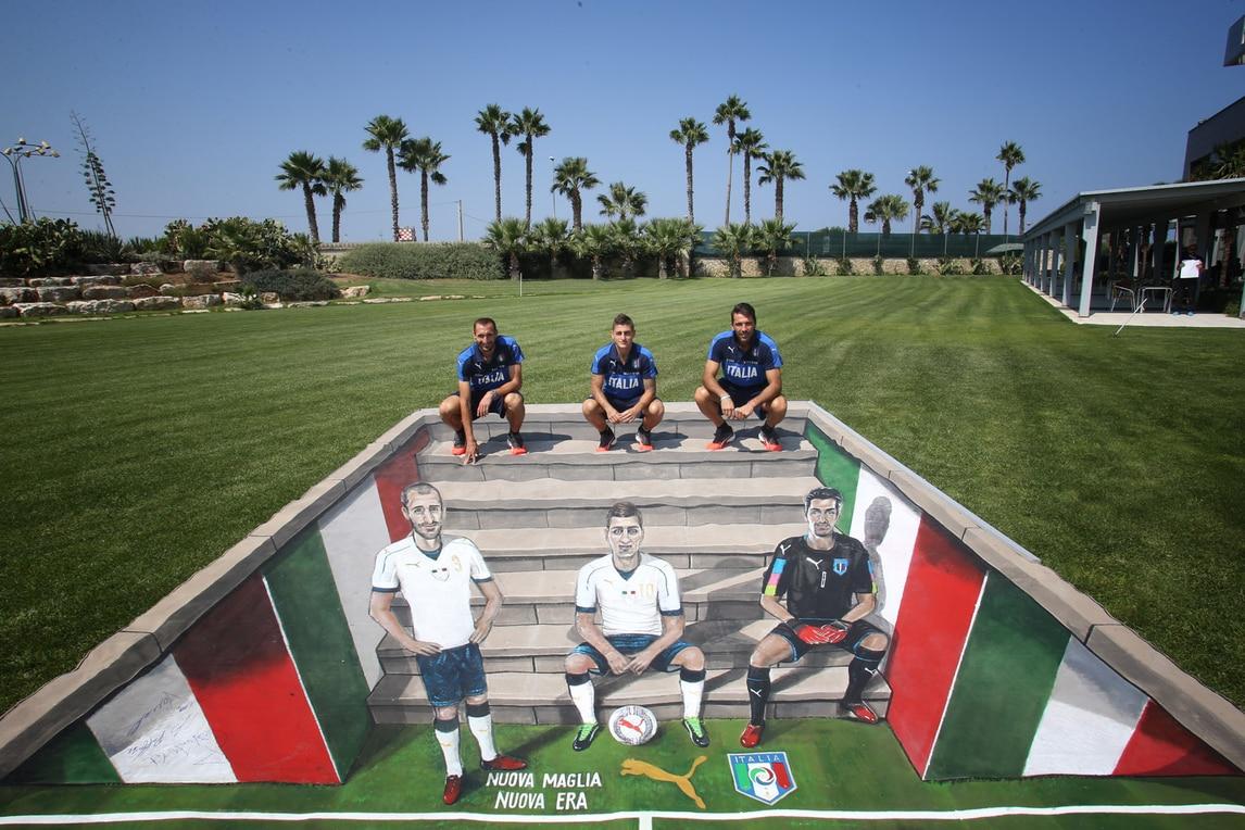 Puma e FIGC per le vittime del terremoto