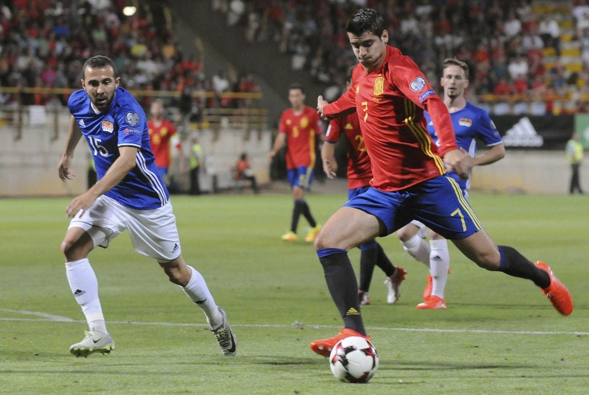 Spagna esagerata, 8 gol al Liechtenstein