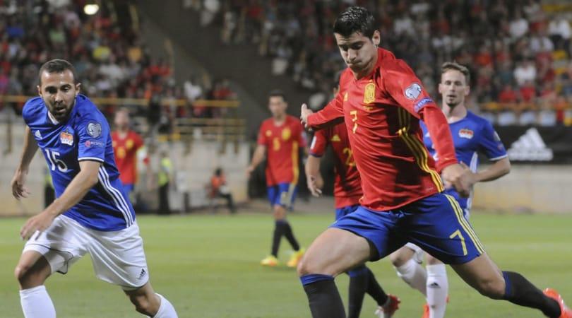 Italia-Spagna, Alvaro Morata: