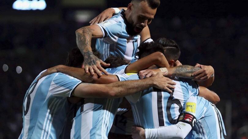 Mondiali 2018, Argentina in discesa con il Venezuela