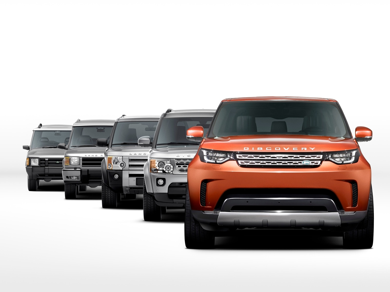 Nuova Land Rover Discovery, le foto in anteprima