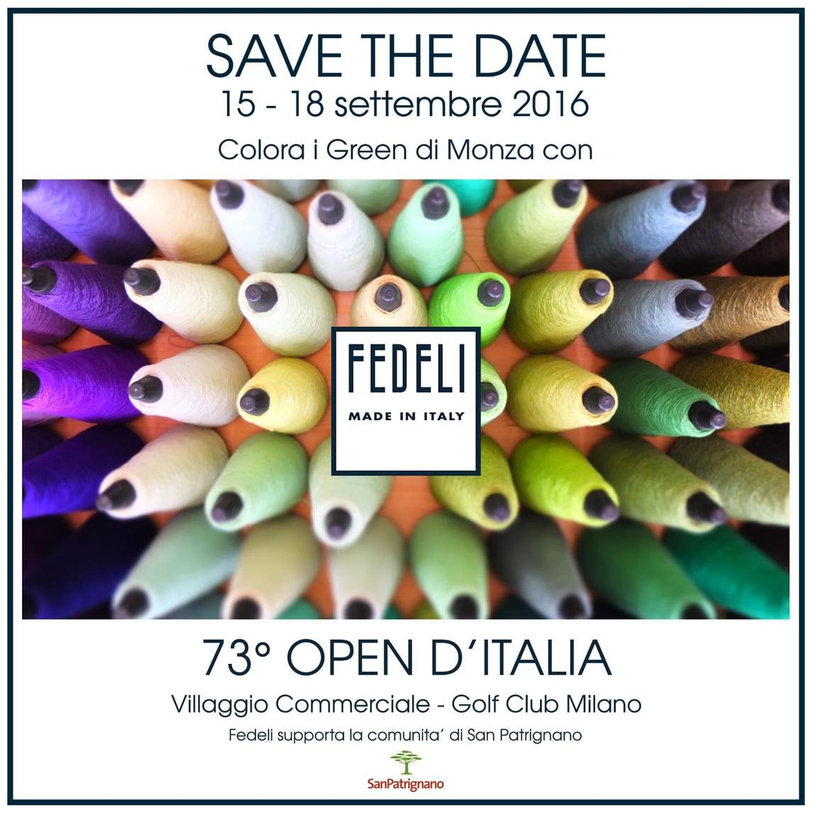 Fedeli al 73esimo Open d'Italia
