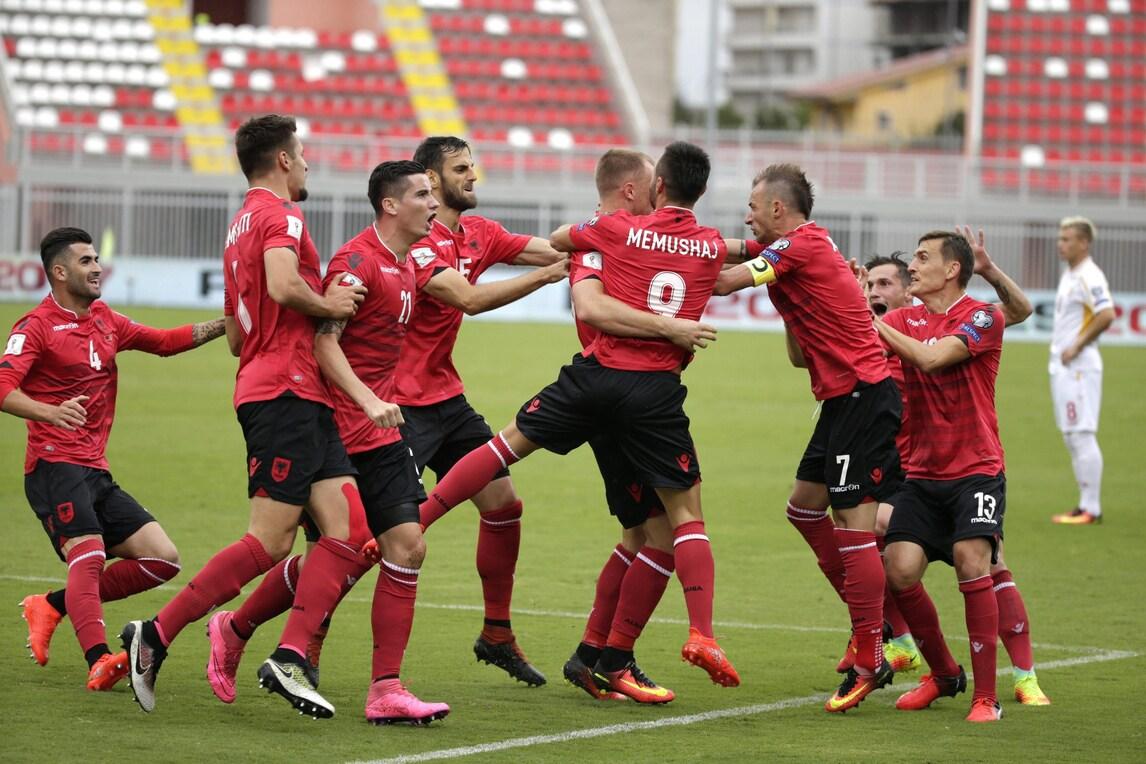 Qualificazioni Russia 2018, Albania-Macedonia 2-1: Balaj dopo la tempesta