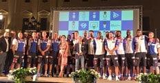 Basket Serie A, Geppi Cucciari alla festa di Sassari