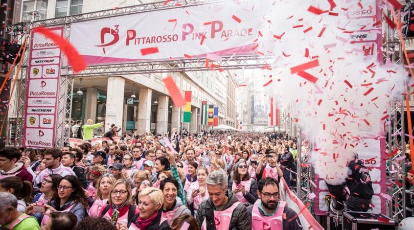 PittaRosso Pink Parade il 23 ottobre a Milano