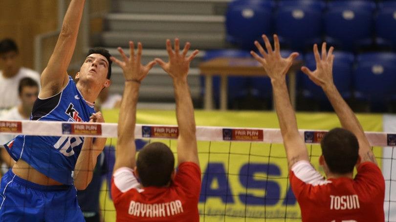 Volley: Europei U. 20, l' Italia supera anche la Turchia e vola in semifinale
