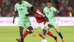 Svizzera-Portogallo 2-0: flop dei campioni d'Europa