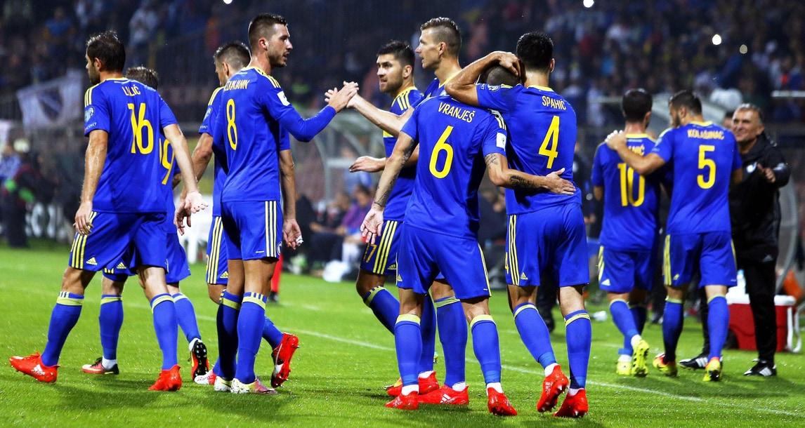 La Bosnia travolge 5-0 l'Estonia: a segno anche Dzeko