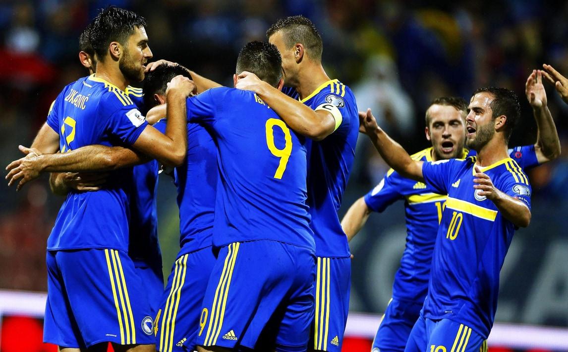 Russia 2018: Svizzera-Portogallo 2-0, Bielorussia-Francia 0-0, Bosnia-Estonia 5-0