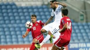 Gibilterra-Grecia 1-4: poker e gol di Torosidis