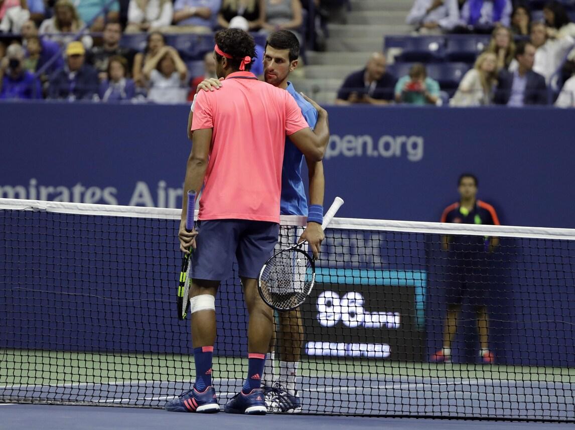 Us Open, Djokovic vola in semifinale
