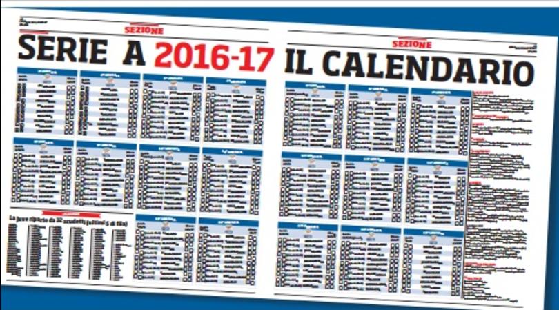 Corriere Dello Sport Calendario.Un Grande Regalo Con Il Giornale In Edicola Il Calendario