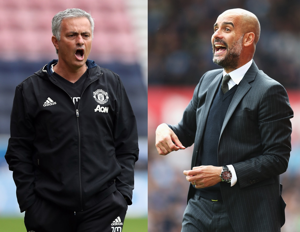 Mourinho contro Guardiola, che sfida in Premier!