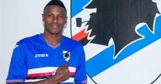 Calciomercato Sampdoria, Amuzie: «Ho finalmente coronato un sogno»