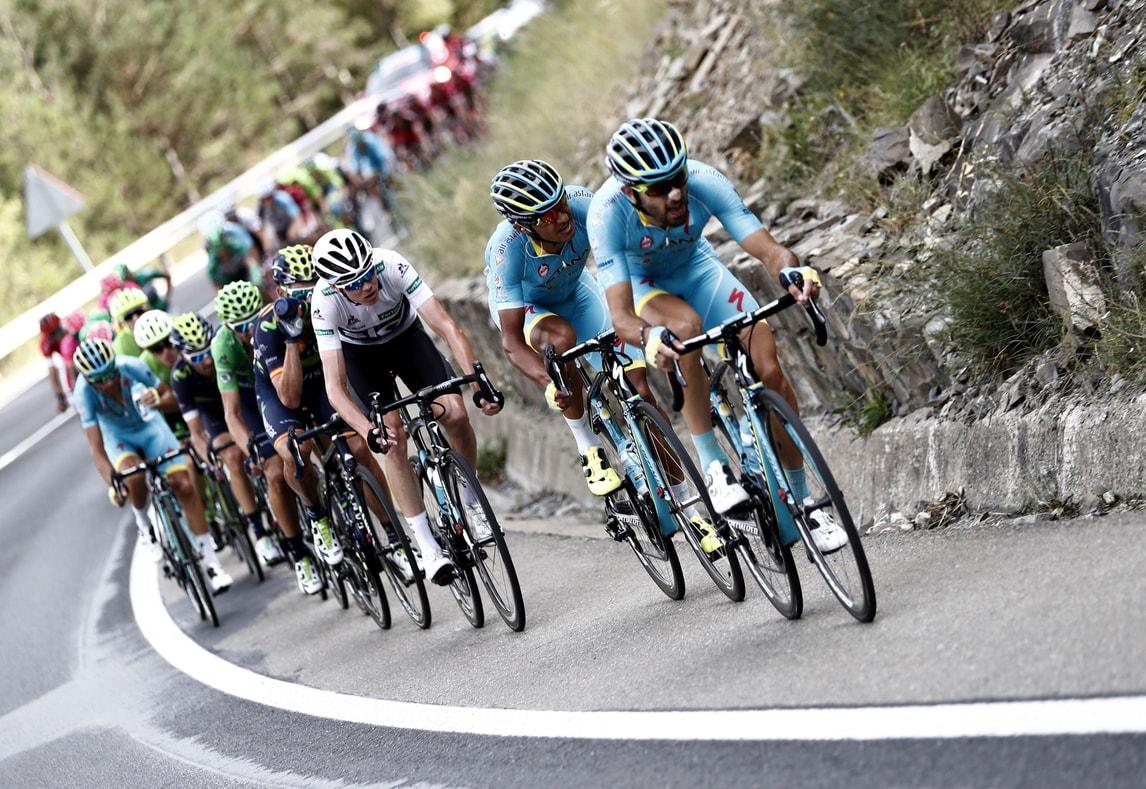 Ciclismo Vuelta: Franck vince la 17ª tappa, Quintana sempre primo