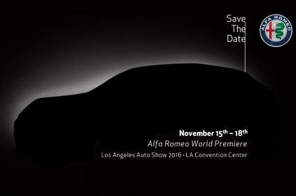 Alfa Romeo Stelvio, il SUV debutta a Los Angeles