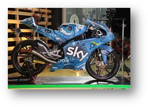 MotoGp, L'arte scende in pista con i giovani talenti dello Sky Racing Team VR46