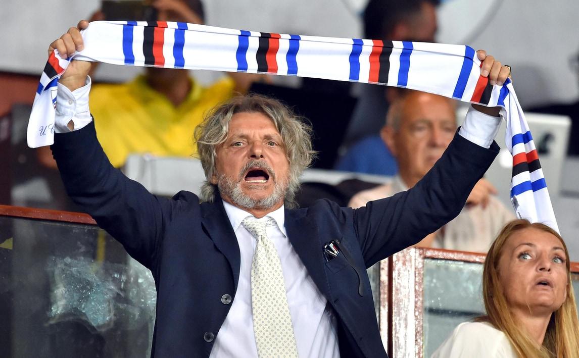 Serie A, Ferrero: «Derby? La Sampdoria si mangerà l'erba»
