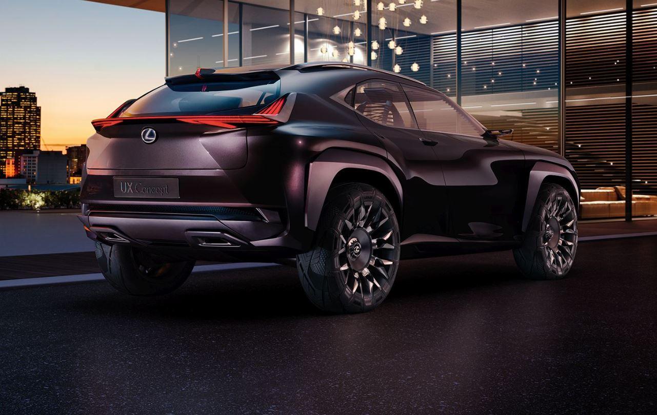 Lexus UX, nuovo prototipo di Suv compatto premium