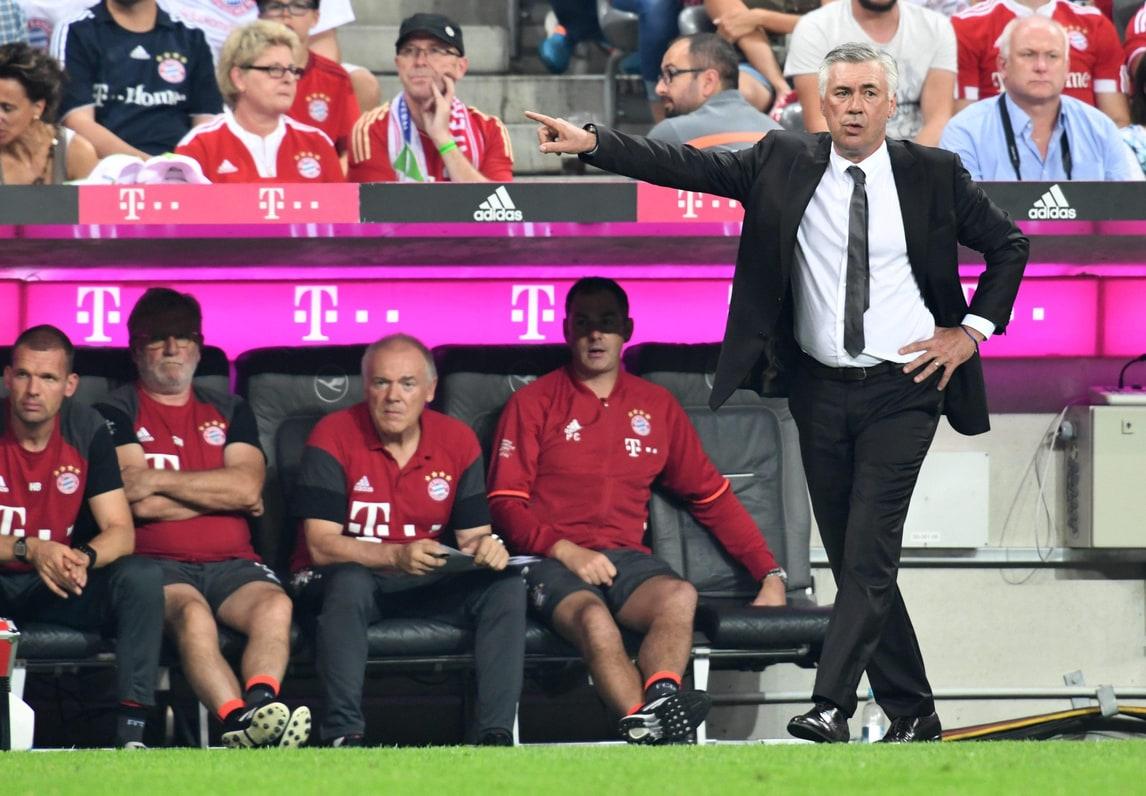 Ancelotti: «Il problema in Italia sono gli stadi proprietà»