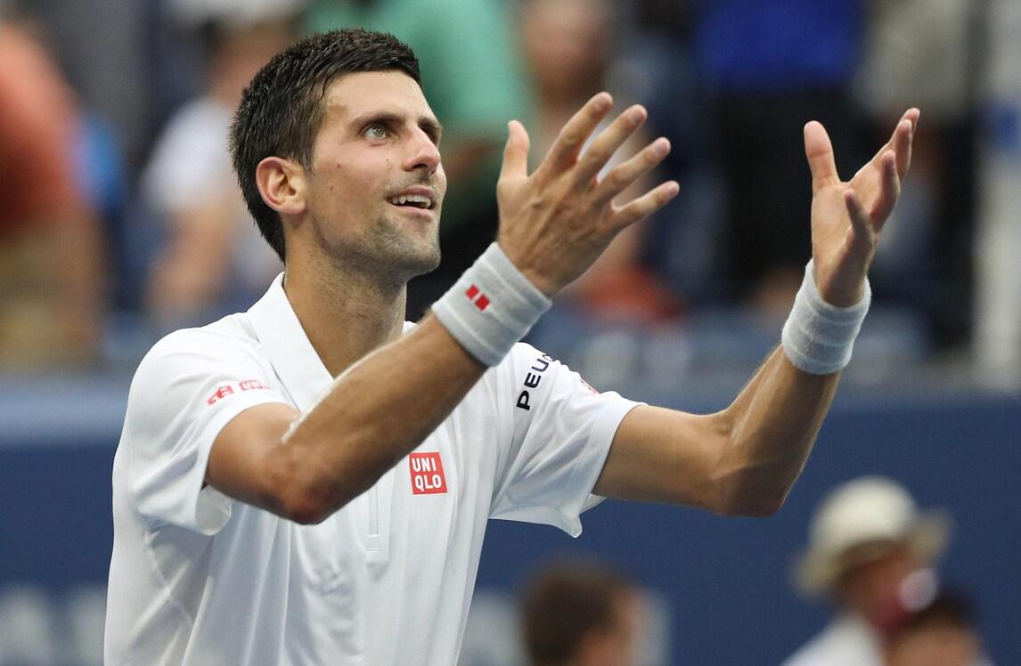 Us Open, Djokovic vola in finale