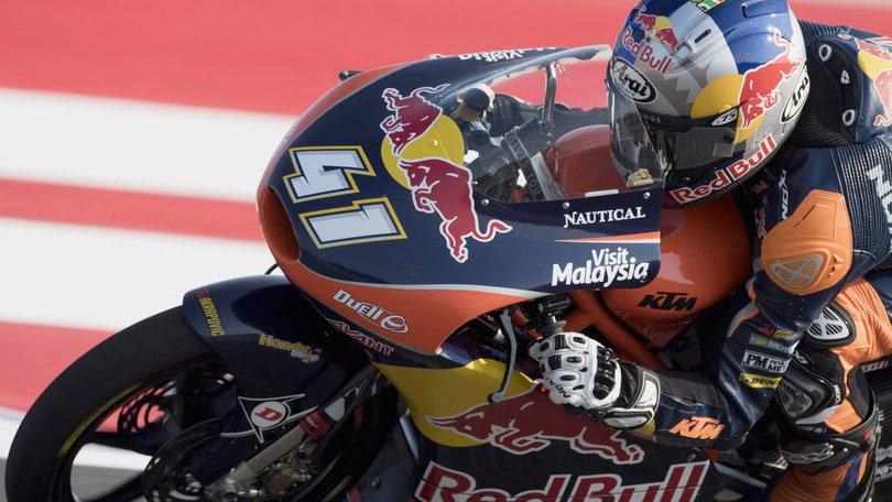 Moto3, Misano: Binder in pole, poi Bastianini e Bulega