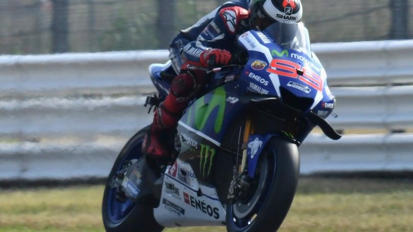 MotoGp, Lorenzo super: è pole a Misano, Rossi secondo