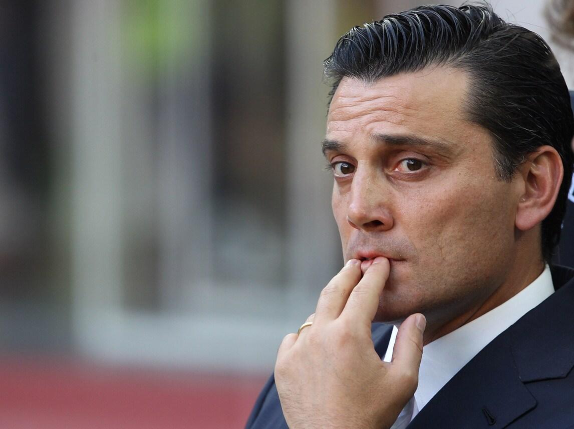 Serie A, Montella incita il Milan: «Questa è una gara che conta»