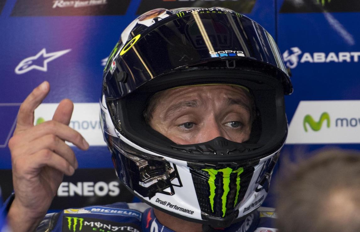 MotoGp Misano, Rossi: «Prima fila importante»