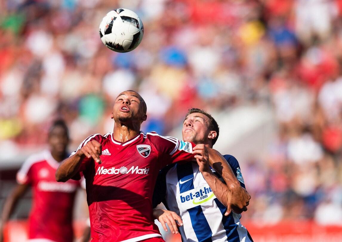 Bundesliga: Hertha a punteggio pieno. Bayer ok