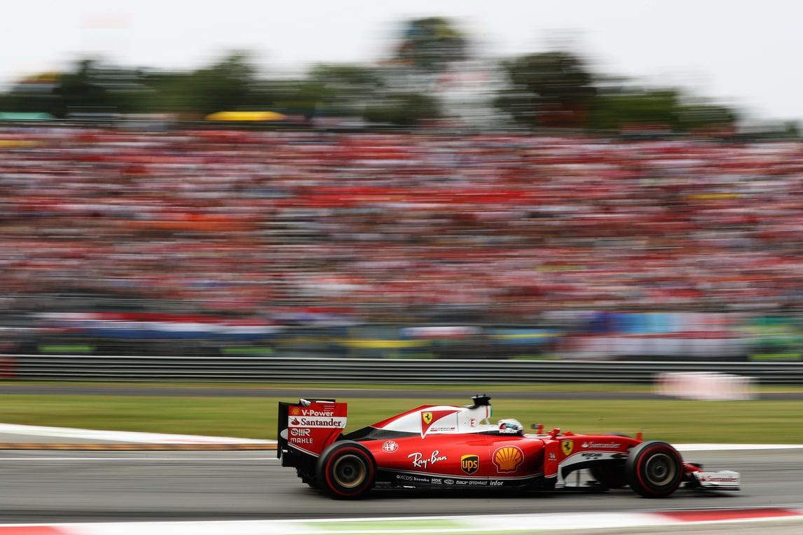 F1, Ferrari: ad Hockenheim in pista 37 anni di storia